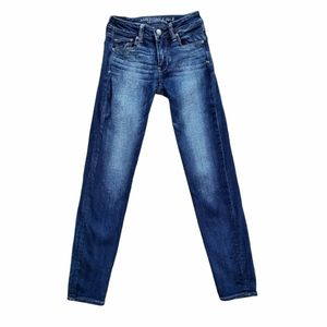 American Eagle Outfitters Super Super Stretch Skinny Low Rise Jeans